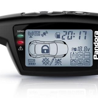 Брелок LCD DXL 078 black DX 50B